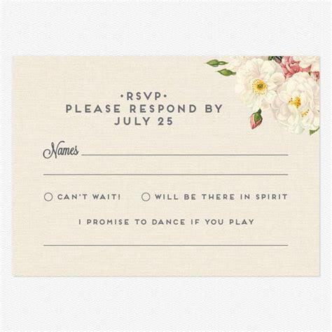 Le Jardinier Response Cards in 2019   Desiree's Wedding