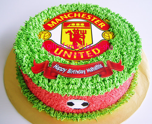 Birthday Cake Edible Image Manchester United
