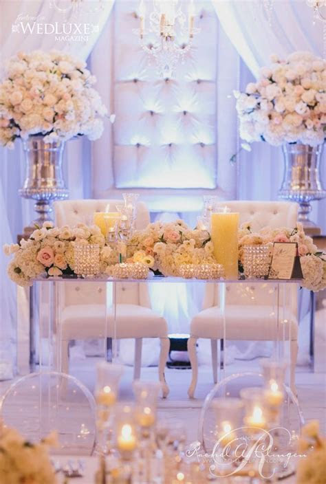 Wedding Reception Sweetheart Table Idea ? OOSILE