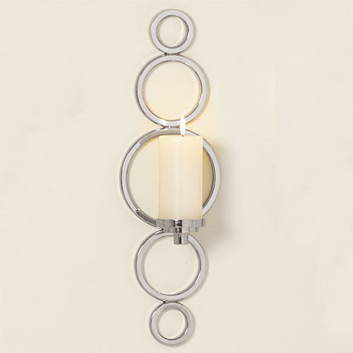 Progressive Ring Sconce - traditional - candles and candle holders ...