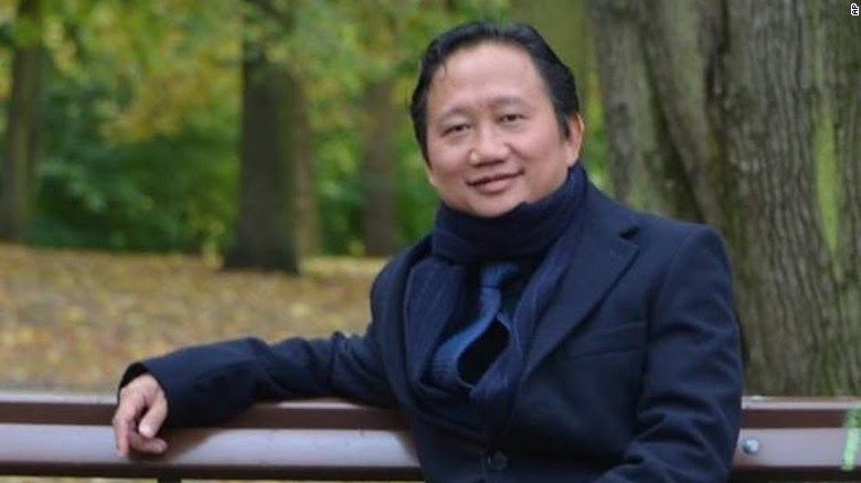 Trinh sitting on a park bench in Berlin, Germany, in an undated photo taken before his return to Vietnam.