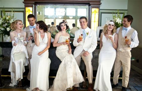 Gatsby Wedding Style Shoot