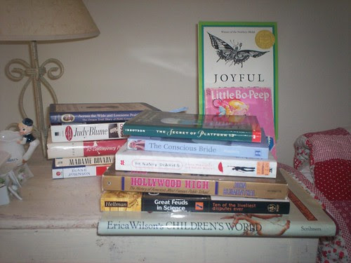 Books Thrifted in Santa Fe