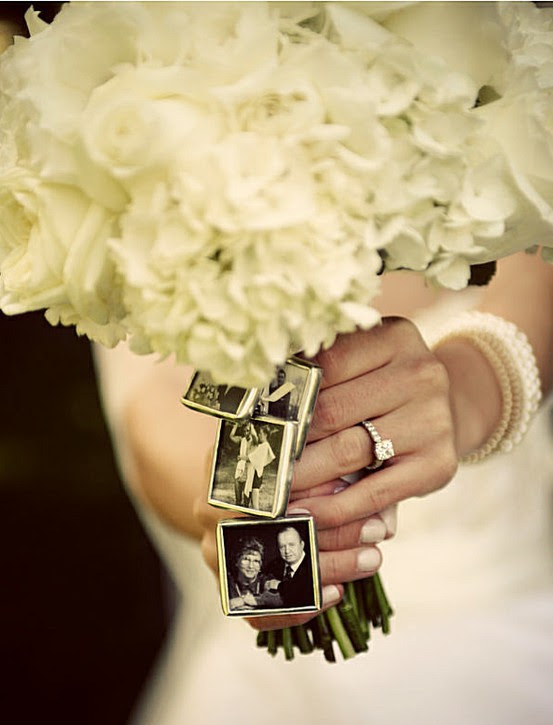 Personalized Wedding Bouquet Photo Frame Charms 1121528 Weddbook