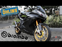 Modifikasi Kawasaki Ninja 250Fi dengan biaya 140 juta ?!!