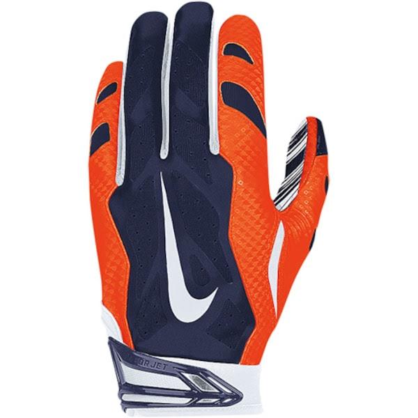Mens Denver Broncos Nike NFL Vapor Jet 3.0 Authentic Gloves  NFLShop.com