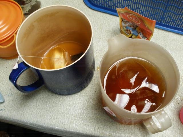 es teh jeruk kalamansi