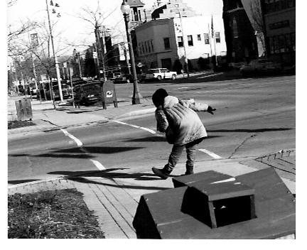dancing on the corner