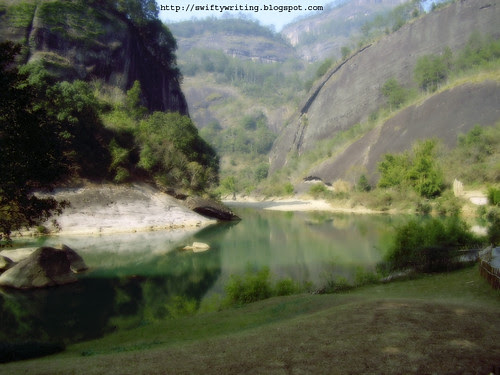 River at the Foot of Tianyou Peak