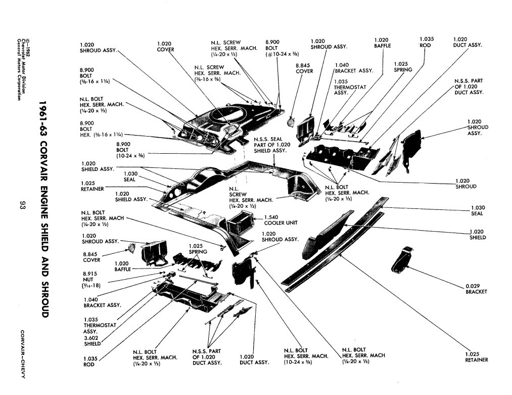 Corvair Engine Diagram - Wiring Diagram