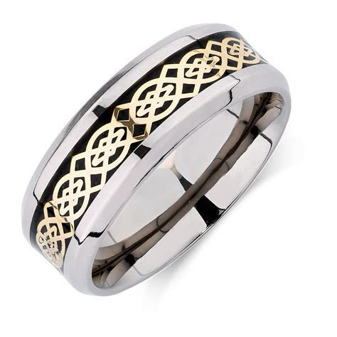 View Full Gallery of Best Of Mens Wedding Rings Australia