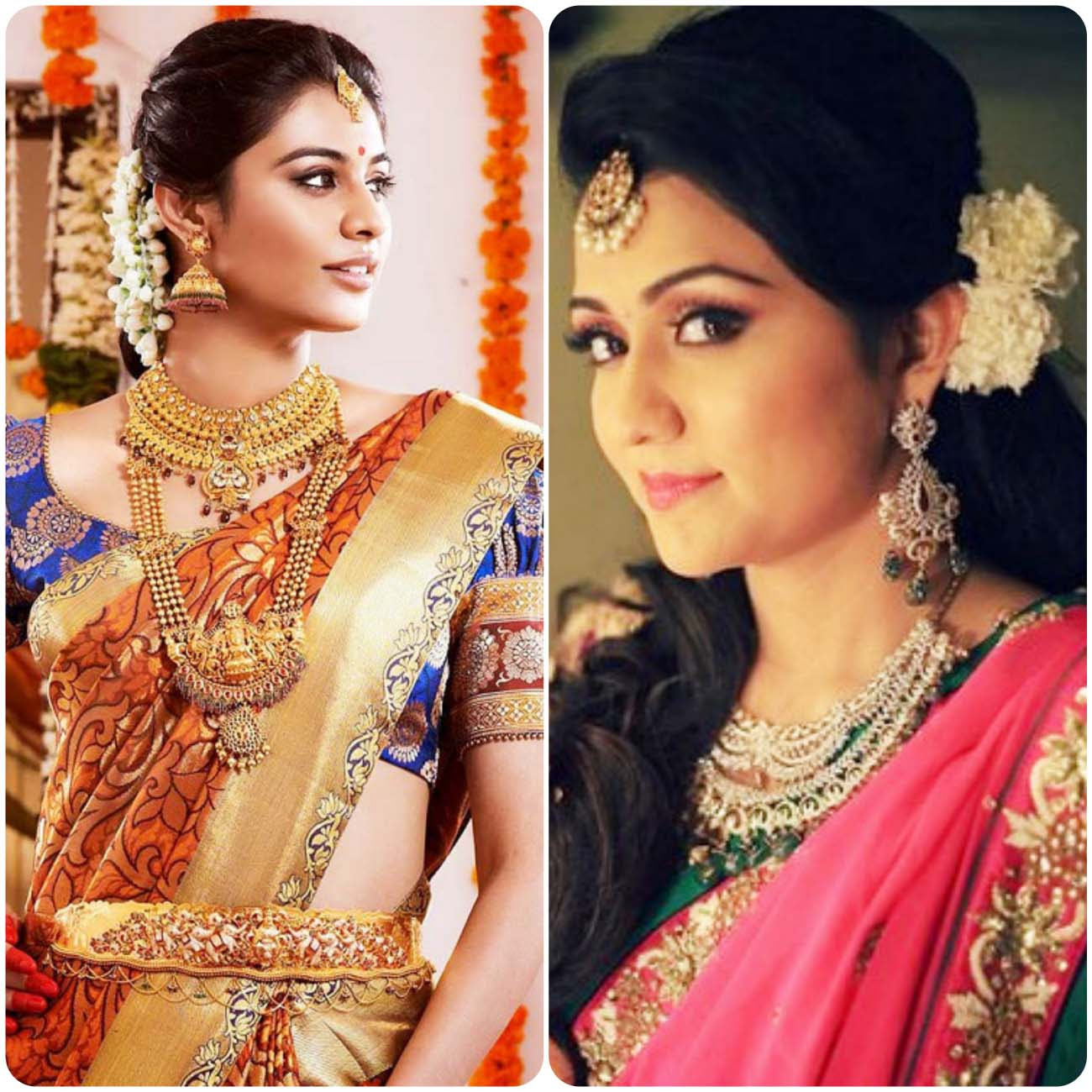Indian Wedding Hairstyles For Brides 2017-2018 | Stylo Planet