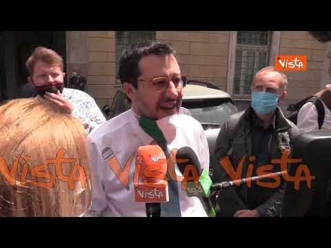"""Salvini: """"Giustizia è fatta, ho bloccato uno sbarco e aiutato il mio Paese"""""""