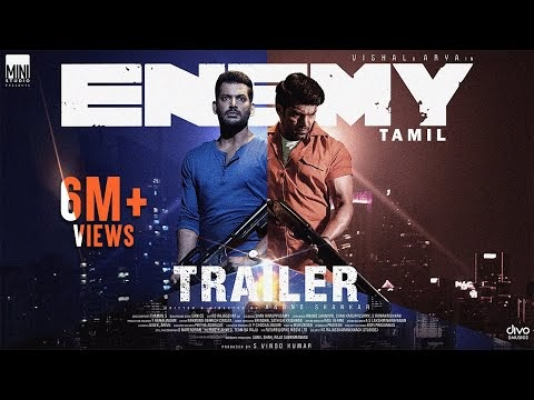 Enemy Tamil Movie Trailer
