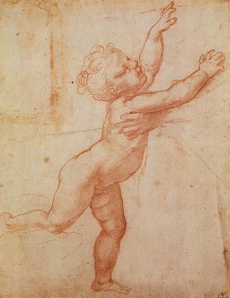 File:Giulio Romano - Nude Child with Open Arms - WGA09624.jpg