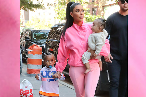 73aa1bbc8fa Kim Kardashian West mommy-shamed for son s  pacifier  — and it didn t stop  there