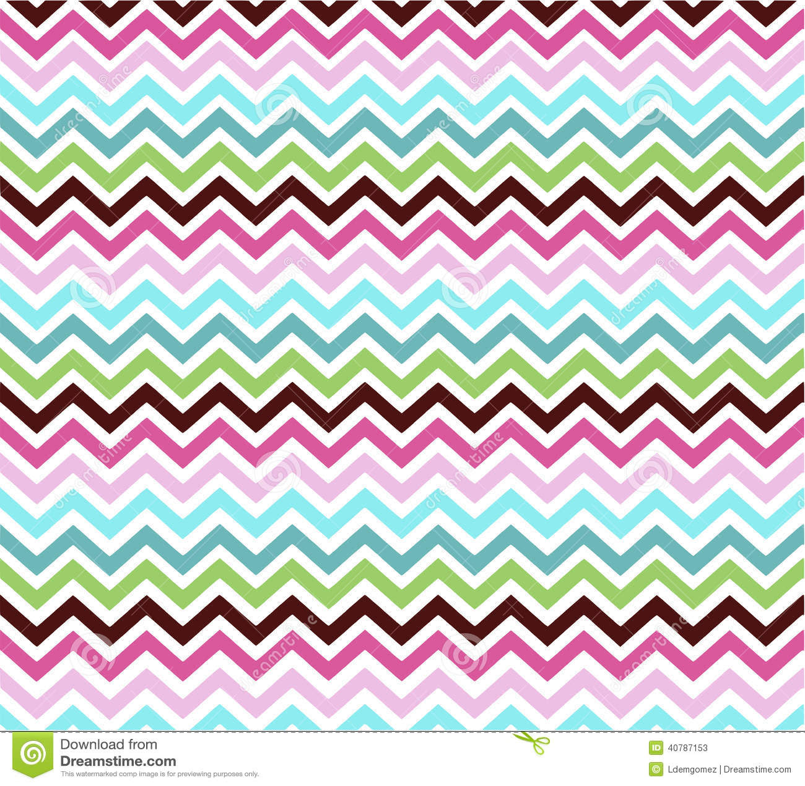 Chevron Colors Pattern Paper Stock Vector Image 40787153