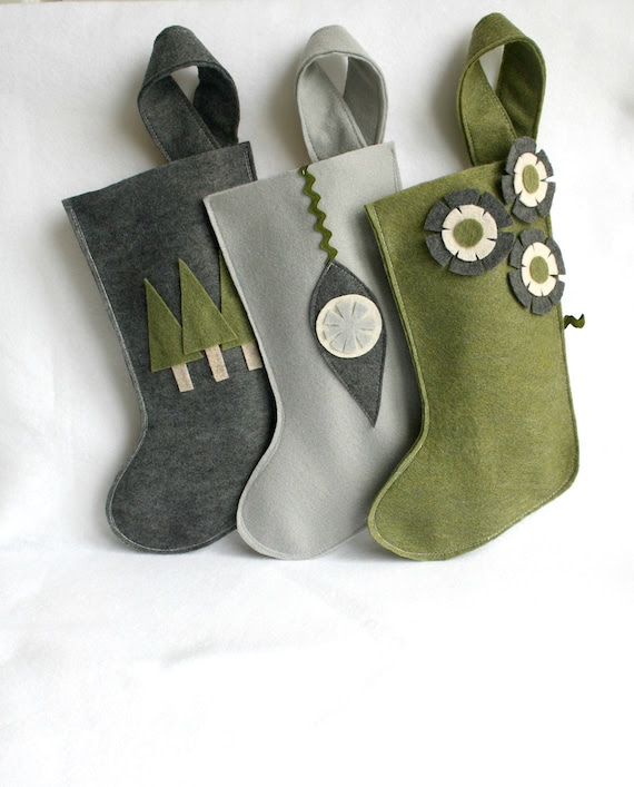 keçe-noel-çorabı