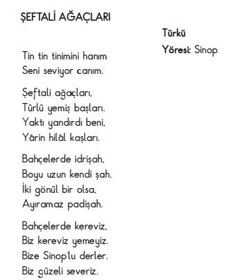 şeftali Ağaçları Türküsü Sözleri Ve Flüt Notaları Arabulokucom
