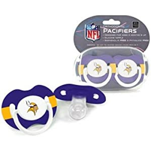 NFL Minnesota Vikings 2 Pack Pacifier