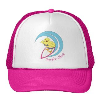 Surfer Chick Mesh Hat