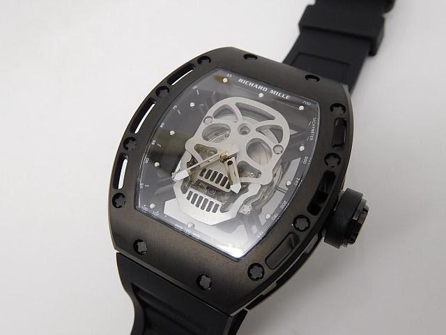 Richard Mille Skull Black PVD Watch