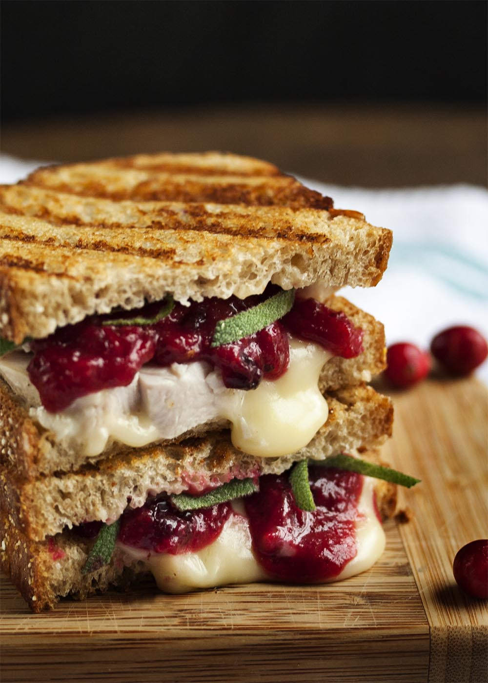 Image result for turkey cranberry panini