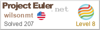 My Project Euler Stats