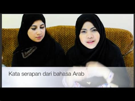 kata serapan  bahasa arab youtube