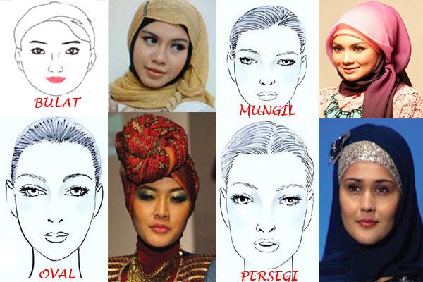 Penggunaan Hijab Sesuai Bentuk Wajah Tutorial Pashmina By Anita Scarf