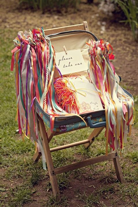 Best 25  Wedding ribbon wands ideas on Pinterest   Wedding