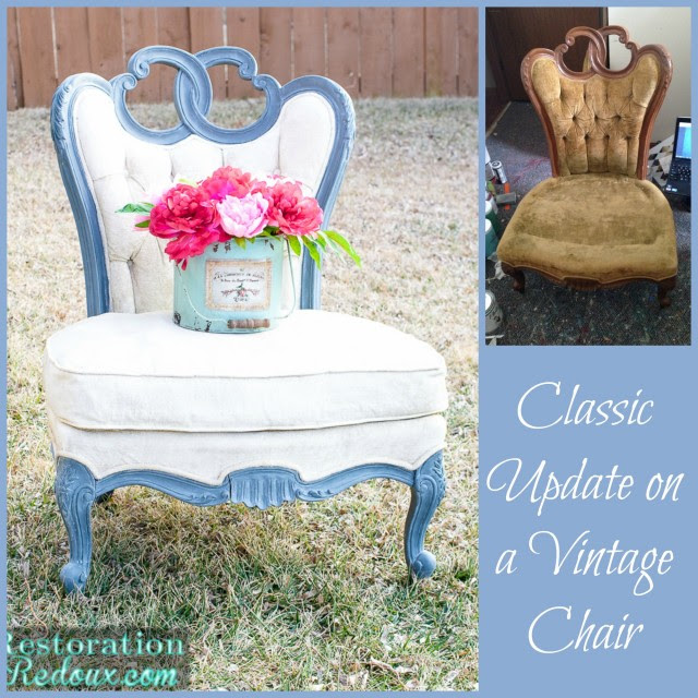 Painted Vintage Chair