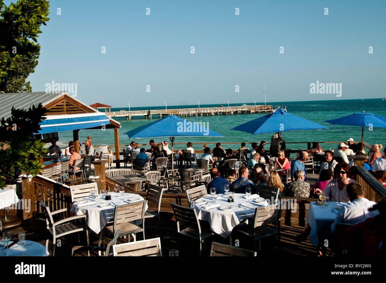 louiekw07 The deck at Louies Backyard, Key West By ...