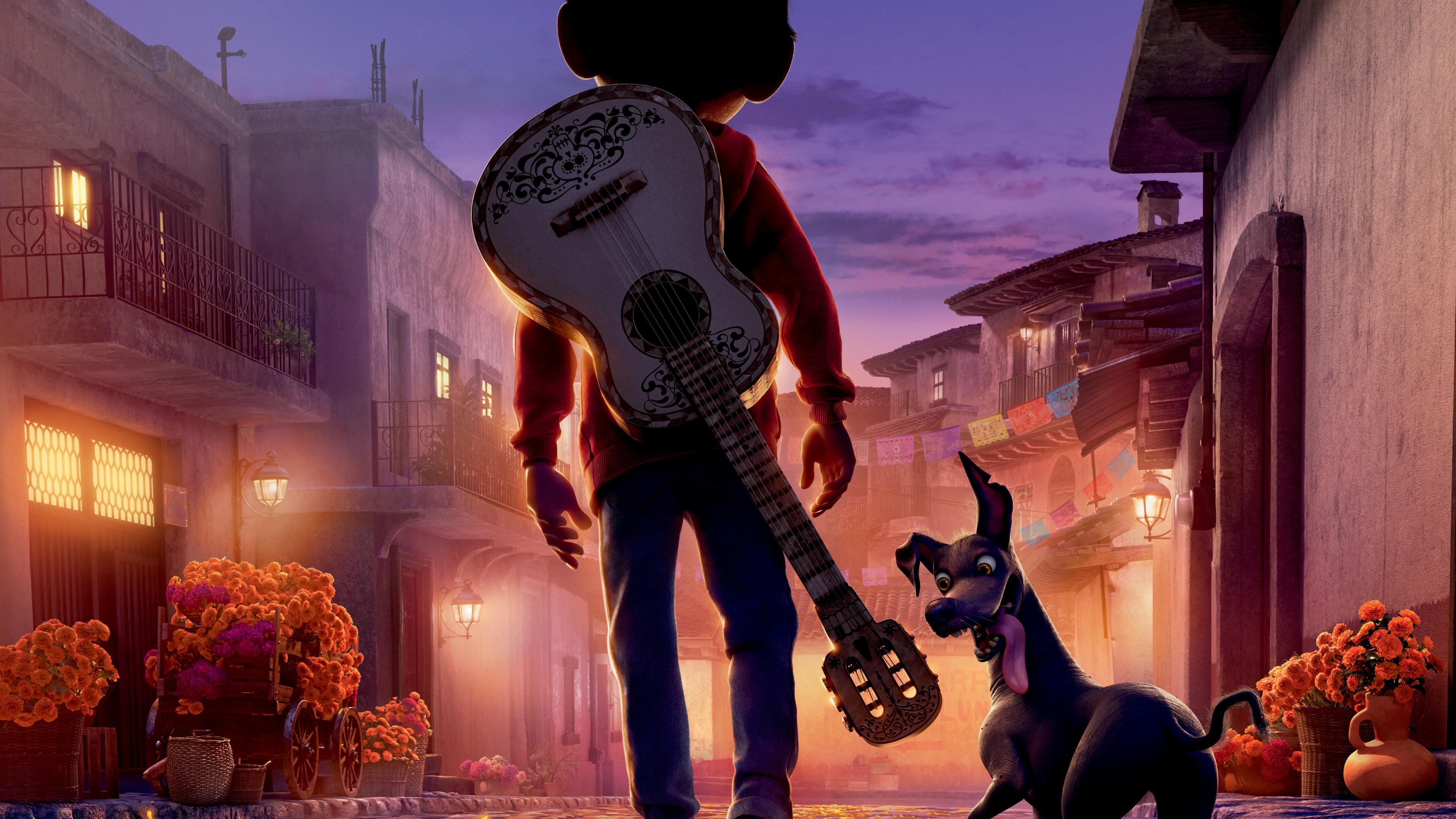 Pixar Coco 2017 4K 8K Wallpapers  HD Wallpapers  ID 20676