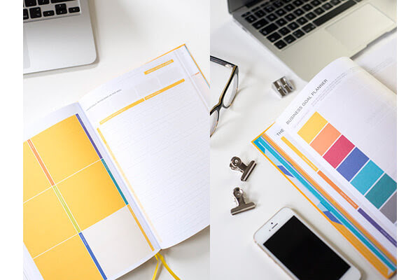Yoga Diary and Journal | Daily Greatness Business Planner