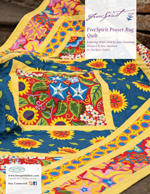 Wild Child Prayer Rug Quilt Kit -- For Friday's Fabric Giveaway!!