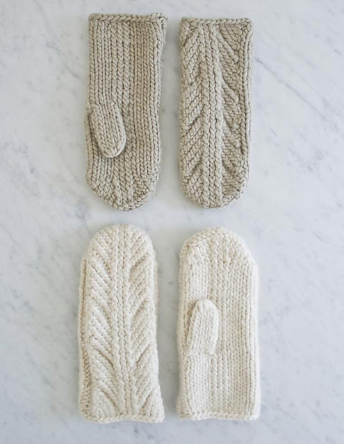 Ancient Stitch Mittens de Purl Soho