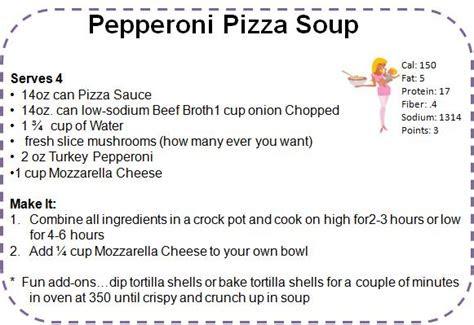 pepperoni pizza soup recipe