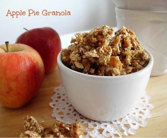 Recipe for Apple Pie Granola