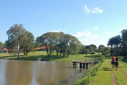 Reprodução - <i>A Estância Ecológica Guairucus, em Santa Mariana, é um dos atrativos da Rota do Café</i>
