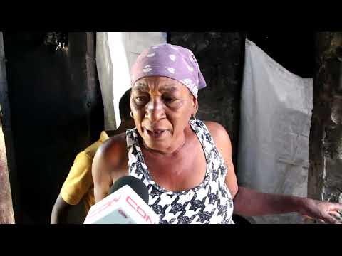 6 FAMILIAS CUYAS VIVIENDAS SE QUEMARON EN SAN JUAN, NO HAN RECIBIDO AYUDA DEL GOBIERNO