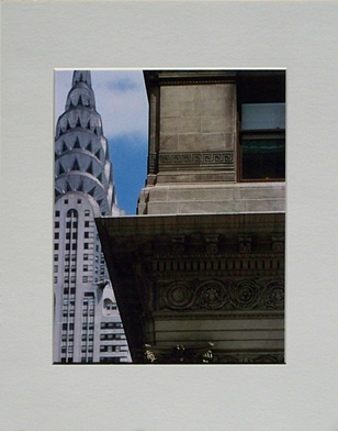 Chrysler Building viewed from 5th Avenue
