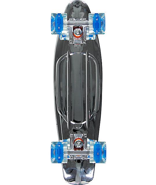 Sunset Chrome Silver 22\u0026quot; Cruiser Complete Skateboard at Zumiez : PDP