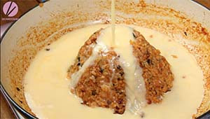 Volcano Fried Rice Recipe & Video - Seonkyoung Longest