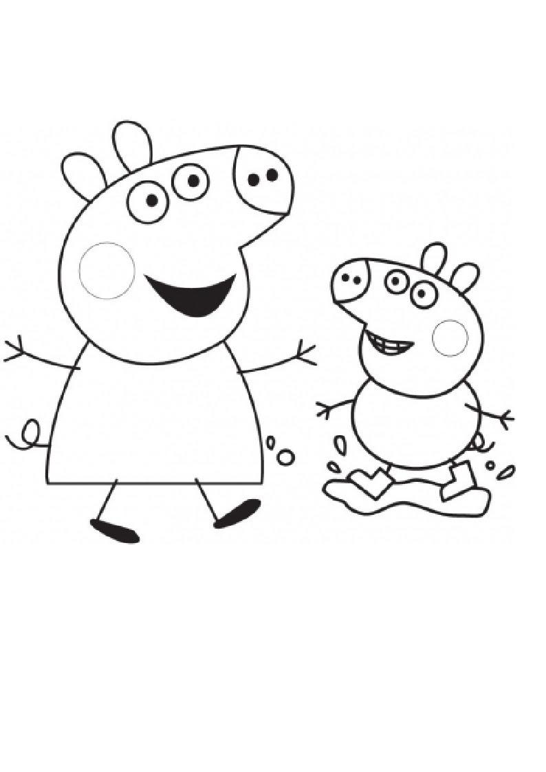 Coloriage peppa pig gratuit dessin a imprimer 50