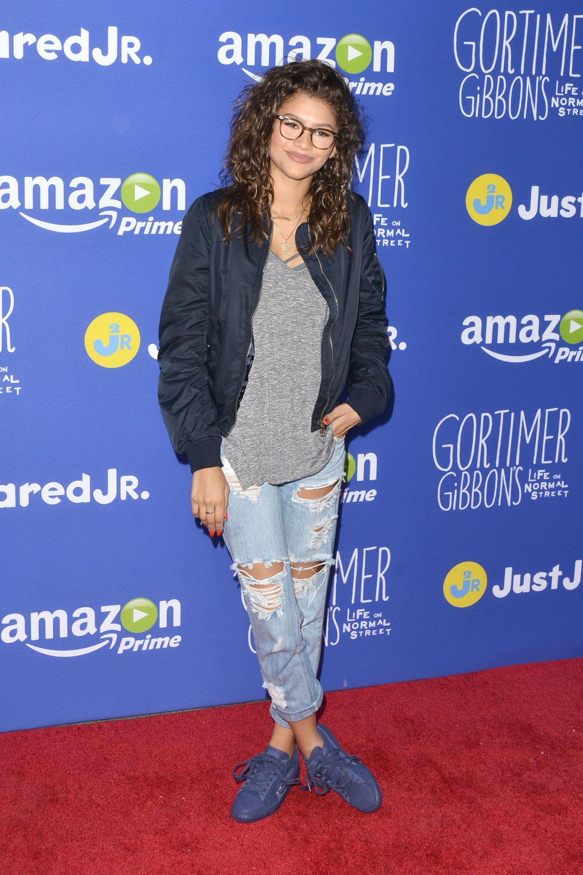 ZENDAYA COLEMAN at Just Jared Fall Fun Day in Los Angeles 10/24/2015
