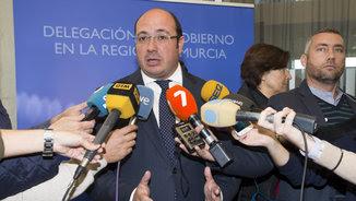 El president de Múrcia, Pedro Antonio Sánchez