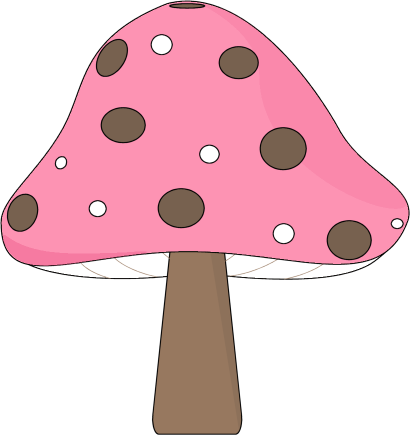 Pink and Brown Mushroom