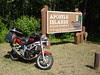 SV650 at the Apostle Islands National Park