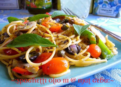 spaghetti olio III